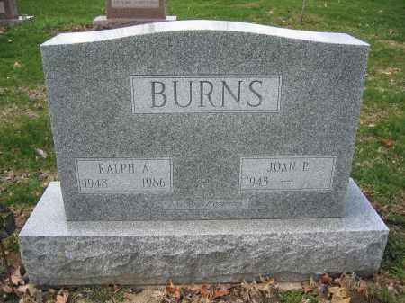 BURNS, RALPH A. - Union County, Ohio | RALPH A. BURNS - Ohio Gravestone Photos