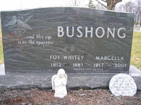 BUSHONG, MARCELLA - Union County, Ohio   MARCELLA BUSHONG - Ohio Gravestone Photos
