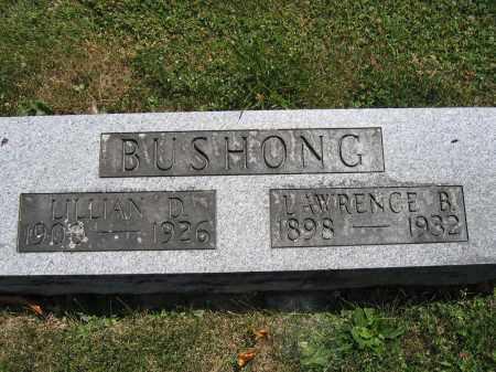 BUSHONG, LILLIAN D. - Union County, Ohio | LILLIAN D. BUSHONG - Ohio Gravestone Photos