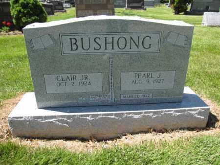 BUSHONG, CLAIR JR. - Union County, Ohio | CLAIR JR. BUSHONG - Ohio Gravestone Photos