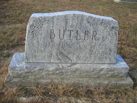 BUTLER, MARY - Union County, Ohio | MARY BUTLER - Ohio Gravestone Photos