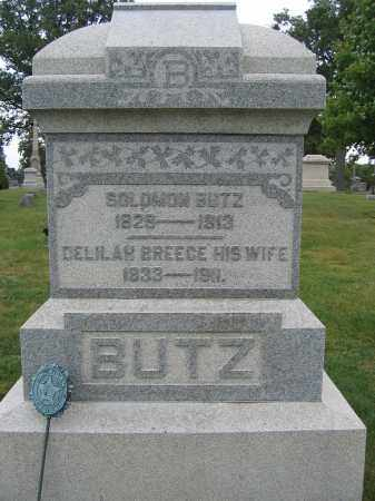 BUTZ, SOLOMON - Union County, Ohio | SOLOMON BUTZ - Ohio Gravestone Photos