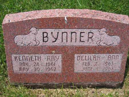 BYNNER, KENNETH RAY - Union County, Ohio | KENNETH RAY BYNNER - Ohio Gravestone Photos