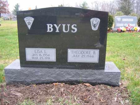 BYUS, LISA L. - Union County, Ohio   LISA L. BYUS - Ohio Gravestone Photos