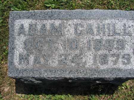 CAHILL, ADAM - Union County, Ohio   ADAM CAHILL - Ohio Gravestone Photos