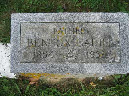 CAHILL, BENTON - Union County, Ohio | BENTON CAHILL - Ohio Gravestone Photos