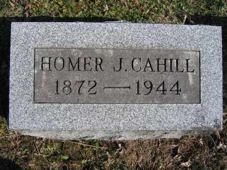 CAHILL, HOMER J - Union County, Ohio   HOMER J CAHILL - Ohio Gravestone Photos