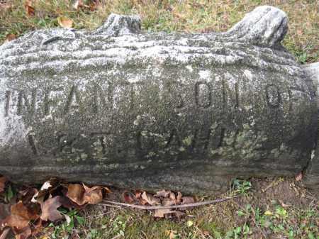CAHILL, INFANT SON - Union County, Ohio | INFANT SON CAHILL - Ohio Gravestone Photos