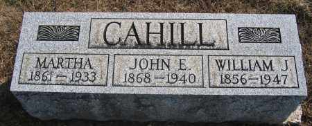 CAHILL, WILLIAM J. - Union County, Ohio | WILLIAM J. CAHILL - Ohio Gravestone Photos