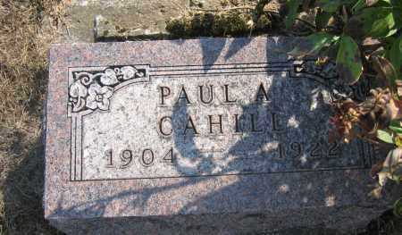 CAHILL, PAUL A. - Union County, Ohio | PAUL A. CAHILL - Ohio Gravestone Photos