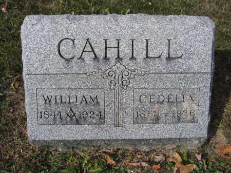 CAHILL, WILLIAM - Union County, Ohio | WILLIAM CAHILL - Ohio Gravestone Photos