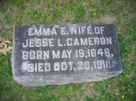 CAMERON, EMMA E. - Union County, Ohio | EMMA E. CAMERON - Ohio Gravestone Photos