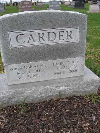 CARDER, SR., JAMES ROBERT - Union County, Ohio | JAMES ROBERT CARDER, SR. - Ohio Gravestone Photos