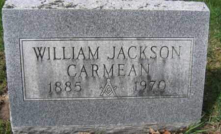 CARMEAN, WILLIAM JACKSON - Union County, Ohio | WILLIAM JACKSON CARMEAN - Ohio Gravestone Photos