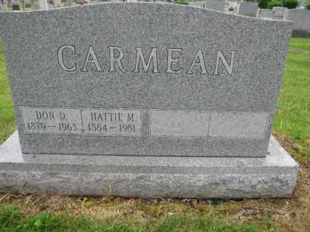 CARMEAN, DON D. - Union County, Ohio | DON D. CARMEAN - Ohio Gravestone Photos