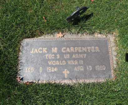 CARPENTER, JACK M - Union County, Ohio | JACK M CARPENTER - Ohio Gravestone Photos