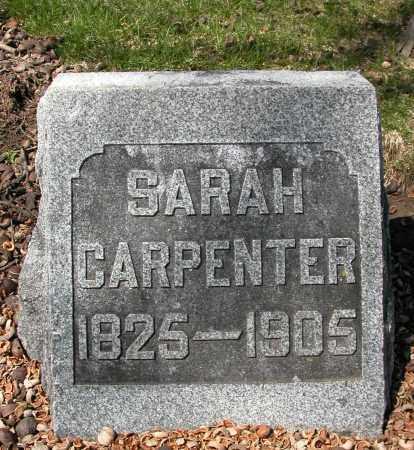 CARPENTER, SARAH - Union County, Ohio | SARAH CARPENTER - Ohio Gravestone Photos