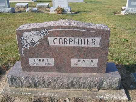 CARPENTER, WAYNE A. - Union County, Ohio | WAYNE A. CARPENTER - Ohio Gravestone Photos