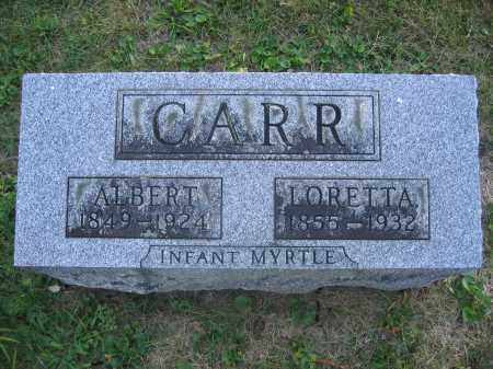 CARR, MYRTLE - Union County, Ohio | MYRTLE CARR - Ohio Gravestone Photos