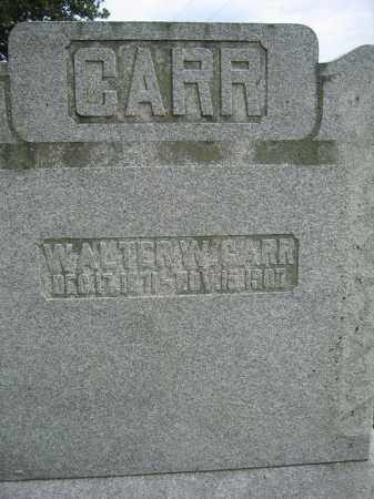 CARR, WALTER W. - Union County, Ohio | WALTER W. CARR - Ohio Gravestone Photos
