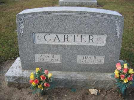 CARTER, IDA B. - Union County, Ohio | IDA B. CARTER - Ohio Gravestone Photos