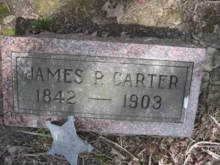 CARTER, JAMES P. - Union County, Ohio | JAMES P. CARTER - Ohio Gravestone Photos
