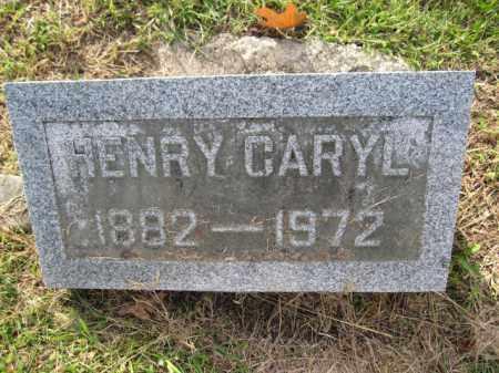 CARYL, HENRY - Union County, Ohio | HENRY CARYL - Ohio Gravestone Photos