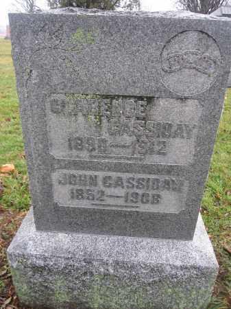 CASSIDAY, JOHN - Union County, Ohio | JOHN CASSIDAY - Ohio Gravestone Photos