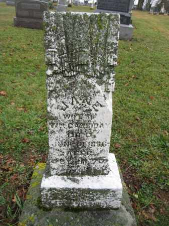 CASSIDAY, JANE MCPHERSON - Union County, Ohio | JANE MCPHERSON CASSIDAY - Ohio Gravestone Photos