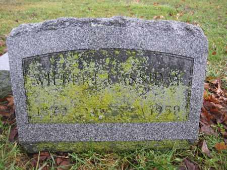 CASSIDAY, WILBERT - Union County, Ohio   WILBERT CASSIDAY - Ohio Gravestone Photos