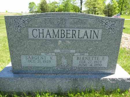 CHAMBERLAIN, BERNETTE E. - Union County, Ohio   BERNETTE E. CHAMBERLAIN - Ohio Gravestone Photos