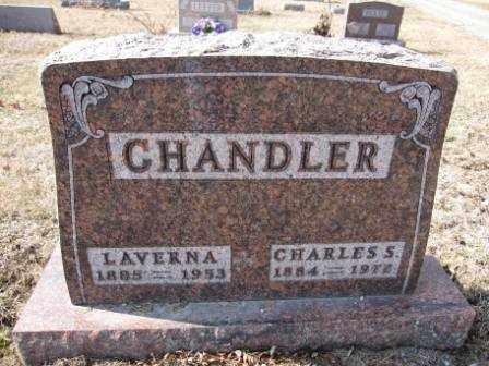 CHANDLER, LAVERNA - Union County, Ohio | LAVERNA CHANDLER - Ohio Gravestone Photos