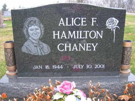 CHANEY, ALICE HAMILTON - Union County, Ohio   ALICE HAMILTON CHANEY - Ohio Gravestone Photos