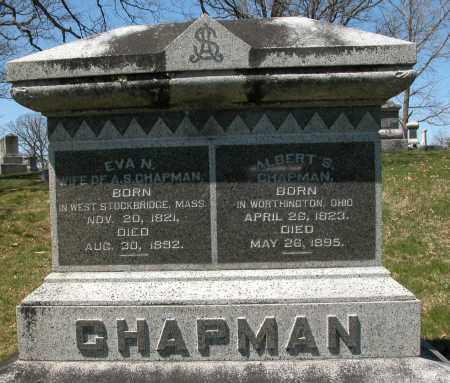 CHAPMAN, EVA N. - Union County, Ohio | EVA N. CHAPMAN - Ohio Gravestone Photos