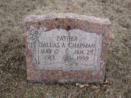 CHAPMAN, DALLAS A. - Union County, Ohio | DALLAS A. CHAPMAN - Ohio Gravestone Photos