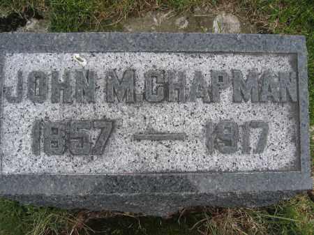 CHAPMAN, JOHN M. - Union County, Ohio   JOHN M. CHAPMAN - Ohio Gravestone Photos