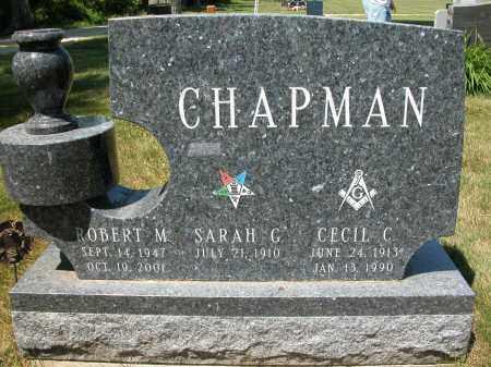 CHAPMAN, SARAH G. - Union County, Ohio | SARAH G. CHAPMAN - Ohio Gravestone Photos