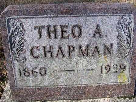 CHAPMAN, THEO. A. - Union County, Ohio | THEO. A. CHAPMAN - Ohio Gravestone Photos