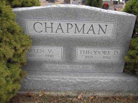 CHAPMAN, THEODORE D. - Union County, Ohio | THEODORE D. CHAPMAN - Ohio Gravestone Photos