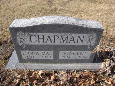 CHAPMAN, VINCENT - Union County, Ohio | VINCENT CHAPMAN - Ohio Gravestone Photos