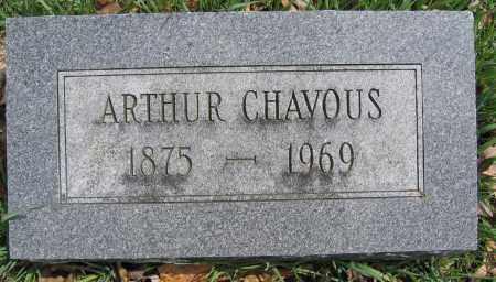 CHAVOUS, ARTHUR - Union County, Ohio | ARTHUR CHAVOUS - Ohio Gravestone Photos