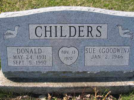 CHILDERS, DONALD - Union County, Ohio | DONALD CHILDERS - Ohio Gravestone Photos
