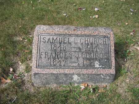 CHURCH, SAMUEL L. - Union County, Ohio   SAMUEL L. CHURCH - Ohio Gravestone Photos