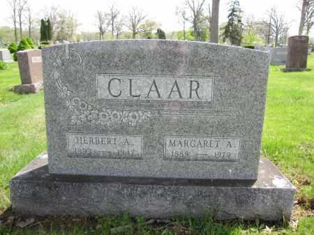 CLAAR, HERBERT A. - Union County, Ohio | HERBERT A. CLAAR - Ohio Gravestone Photos