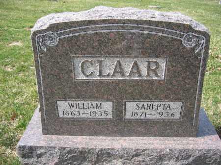 CLAAR, WILLIAM - Union County, Ohio | WILLIAM CLAAR - Ohio Gravestone Photos