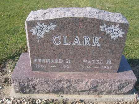 CLARK, BERNARD N. - Union County, Ohio   BERNARD N. CLARK - Ohio Gravestone Photos