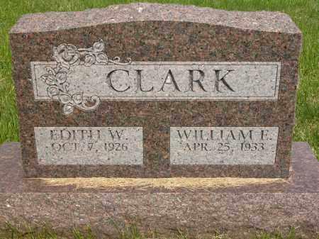 CLARK, EDITH W. - Union County, Ohio | EDITH W. CLARK - Ohio Gravestone Photos