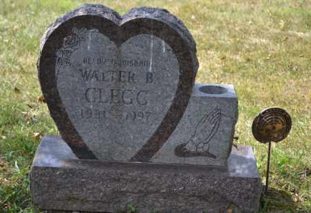 CLEGG, WALTER B. - Union County, Ohio | WALTER B. CLEGG - Ohio Gravestone Photos