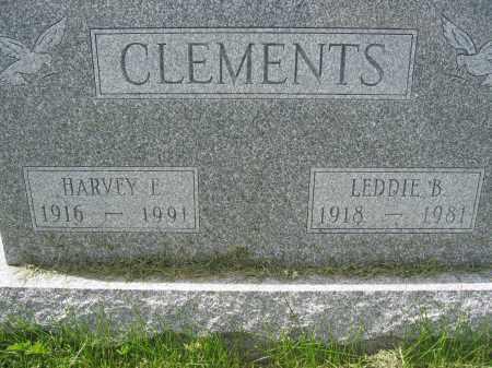 CLEMENTS, HARVEY E. - Union County, Ohio   HARVEY E. CLEMENTS - Ohio Gravestone Photos