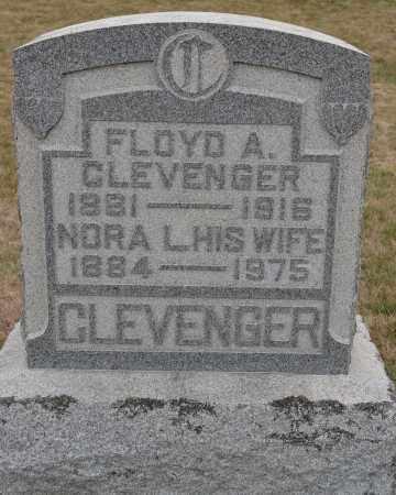 CLEVENGER, NORA L. - Union County, Ohio | NORA L. CLEVENGER - Ohio Gravestone Photos